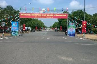 Nhơn trạch kỷ niệm 20 năm thành lập huyện